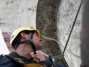 Alpinism utilitar brasov/ demontare-mesh-turn-apa
