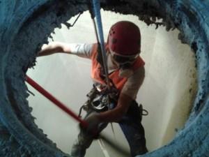Alpinism Utilitar Brasov / curatare buncar siloz