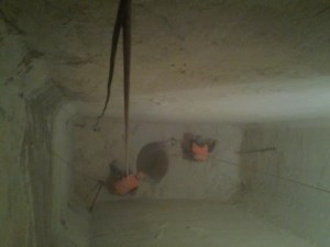 Alpinism Utilitar Brasov / decolmatare buncar calciu