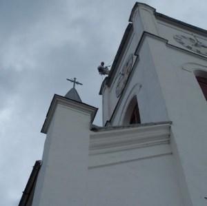 Alpinism Utilitar Brasov / vopsire acoperis biserica